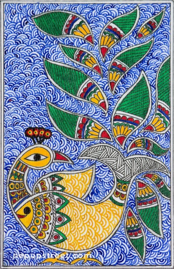 35 Easy Madhubani Art And Paintings For Beginners Gond