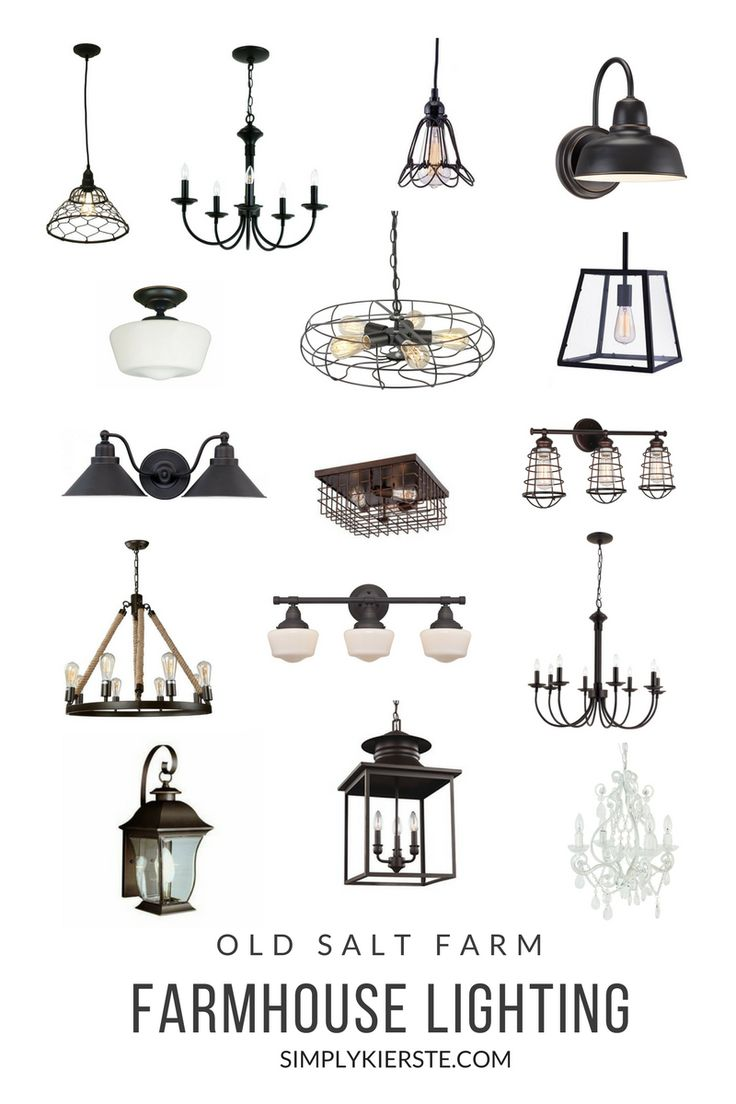 Farmhouse Lighting At Old Salt Farm Source List