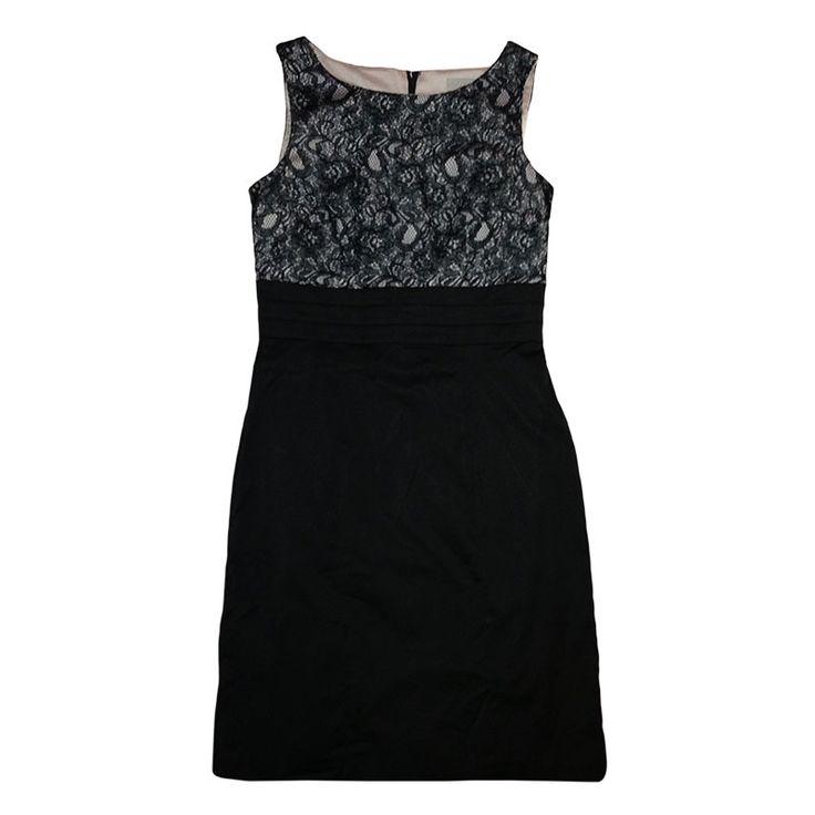 Vestidos : Vestido de encaje negro - Abretucloset.com