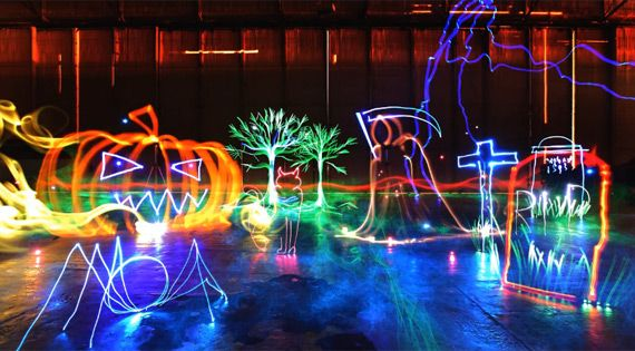 How to Create Elaborate Light Painting Photo Compositions