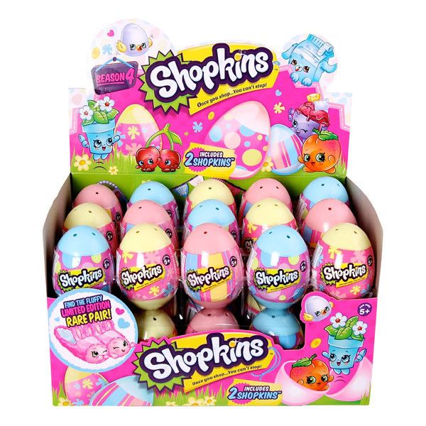 #Shopkins #Surprise #Eggs - Season 4 Great present for #Easter