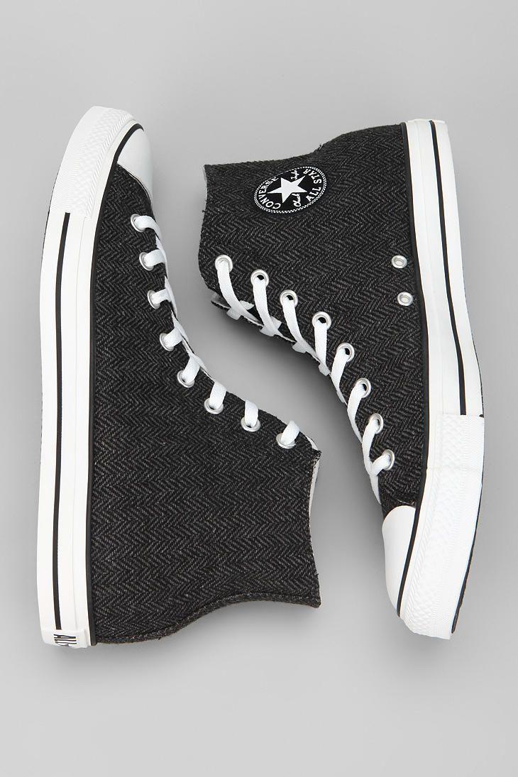 Converse Chuck Taylor All Star Herringbone High-Top Sneaker  #UrbanOutfitters