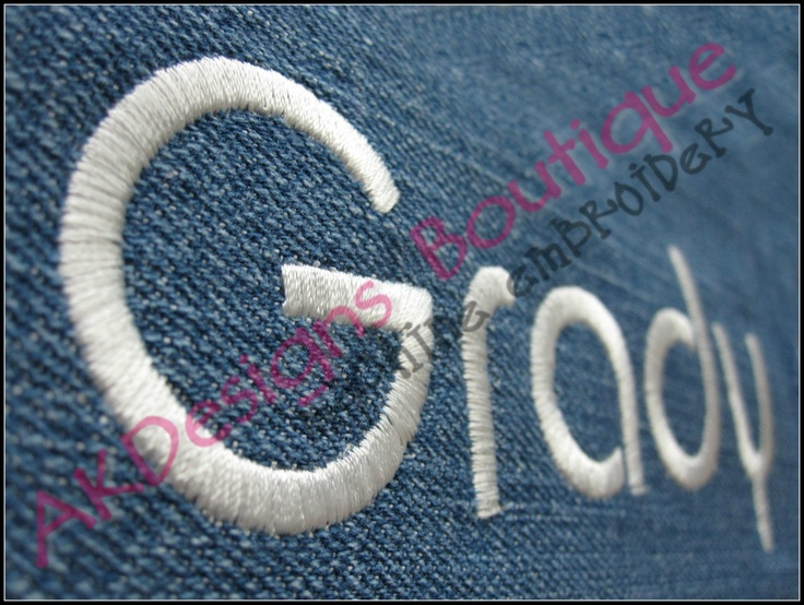 Cute Retro Boy Font Machine Embroidery Designs #akdesignsboutique #embroiderydesigns