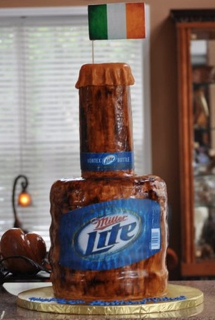 Miller Light birthday cake that he would love!