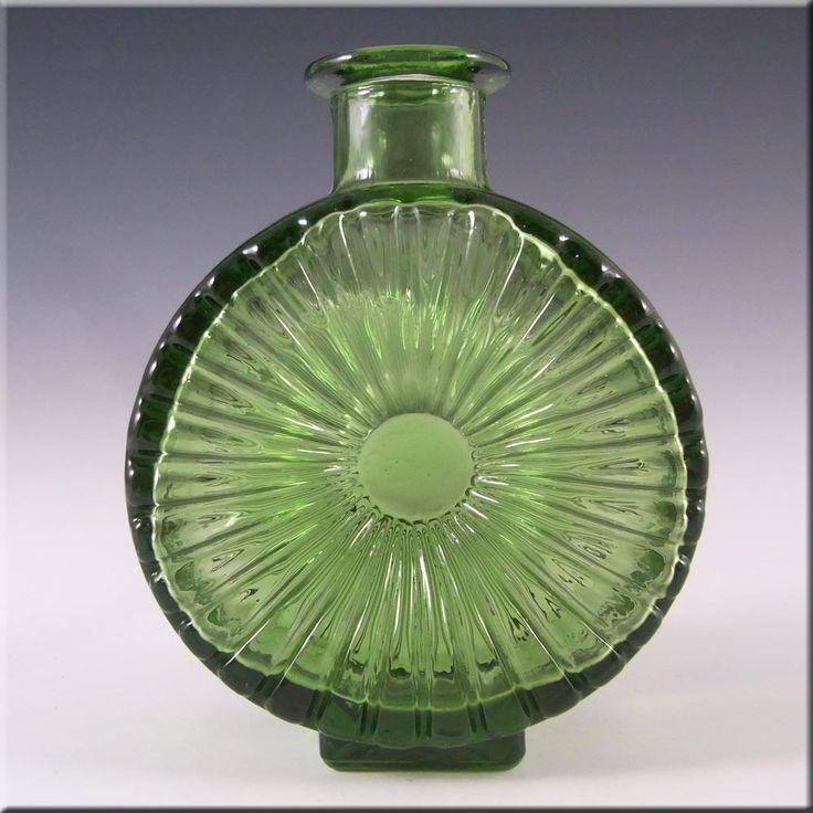 Riihimaki/Riihimaen Glass Helena Tynell 'Aurinkopullo' Sun Vase #2 - £100.00