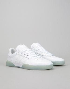 349703993b0916 Adidas City Cup Skate Shoes - White White Gold Metallic