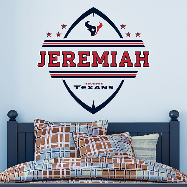 Houston Texans Personalized Name                                                                                                                                                                                 More