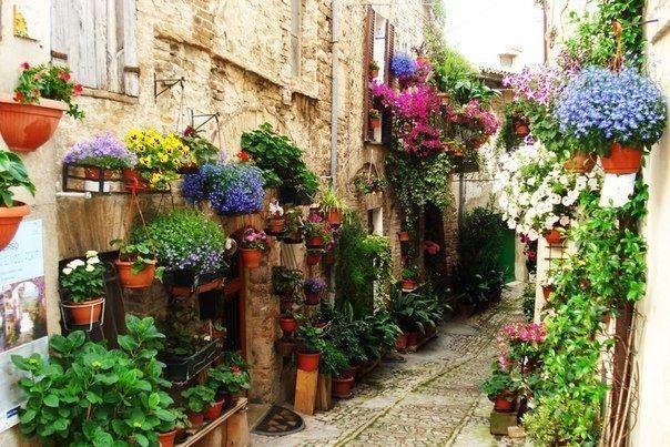 Уютные итальянские улочки - Путешествуем вместе