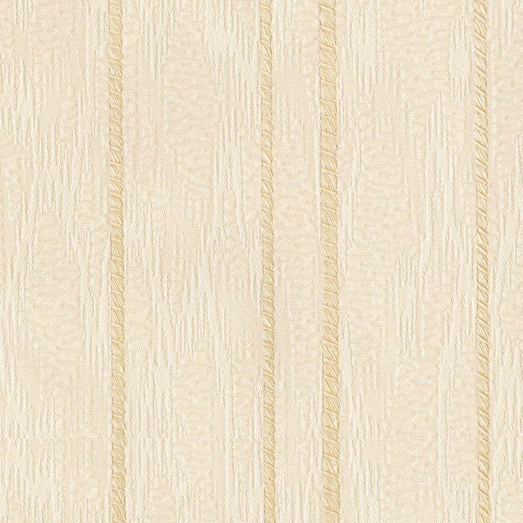Flame Stitch Stripe Stripes Cream Vinyl Wallpaper