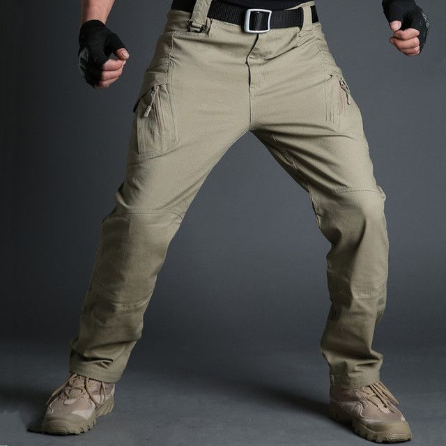 US Army Urban Tactical Pants Military Clothing Men's Casual Cargo Pants SWAT Combat Pants Man Trousers With Multi Pocket