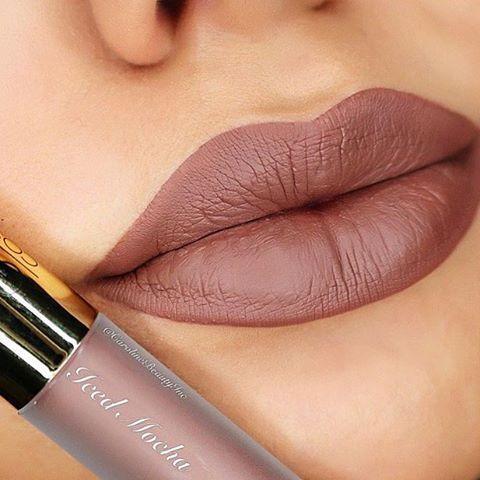 Gerard Cosmetics Liquid Lipstick: Iced Mocha (1,200php)