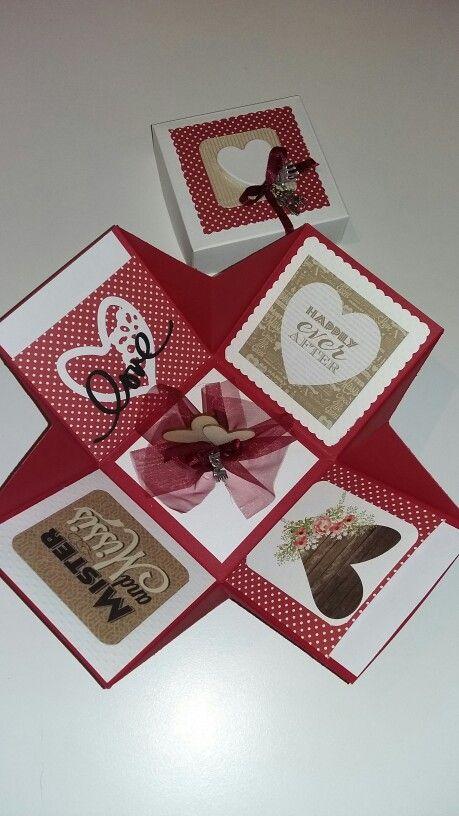 Matrimonio Box Bed : Images about explosion box matrimonio on pinterest