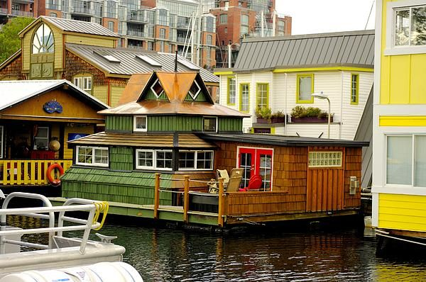 Be sure to check out Victoria's Fisherman's Wharf and Float Home Village!