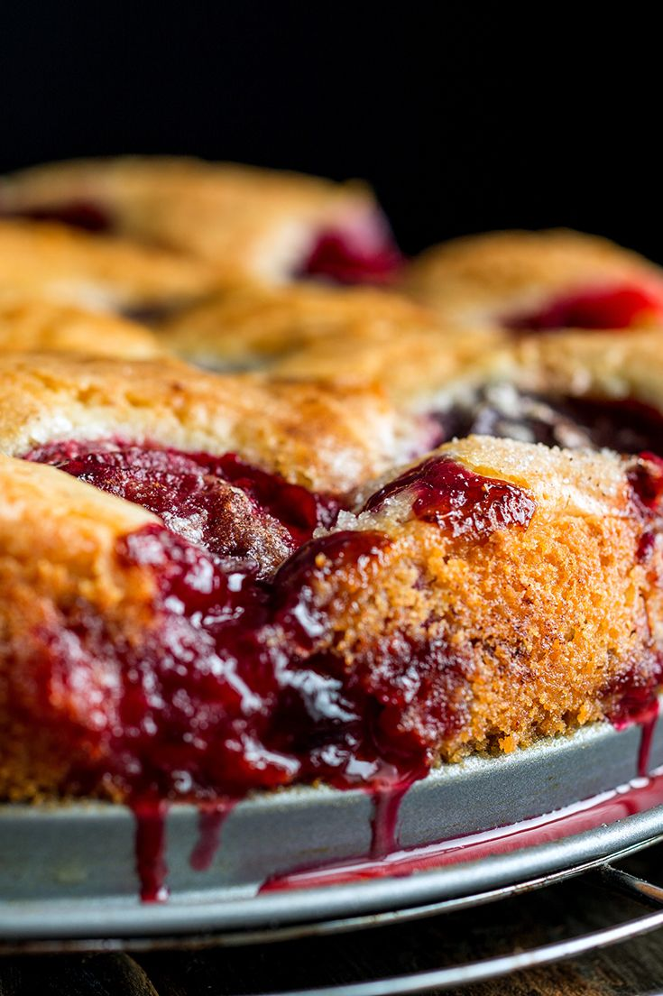 The Times published Marian Burros's recipe for Plum Torte every September from 1982 until 1989, when the editors determined that enough was enough. The recipe was to be printed for the last time that year. (Photo: Andrew Scrivani for The New York Times)
