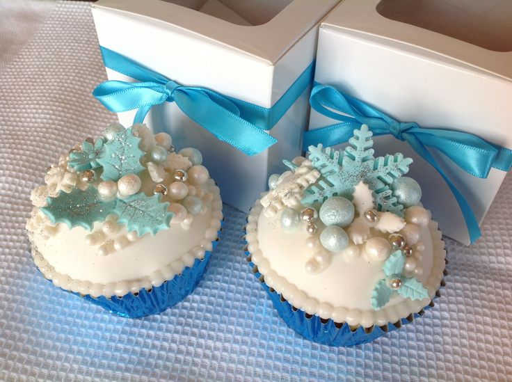 Christmas Cup Cakes I made last year.