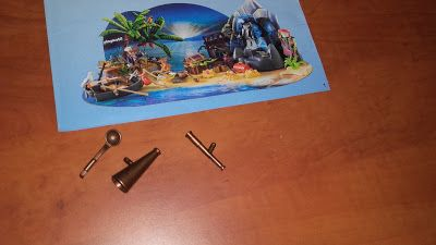 [On découvre]  jour 15 du calendrier de l'avent playmobil pirates : - Mes sorties avec 2 loulous