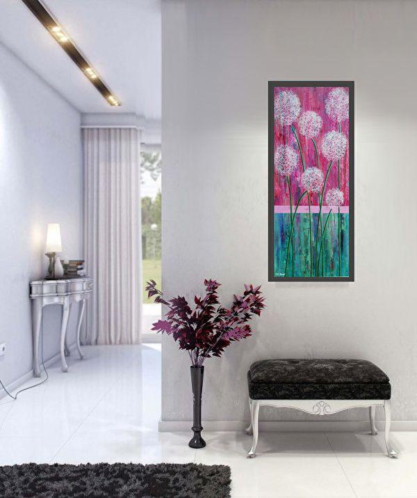 """""""Pink Truffulas"""" in a hallway by Pamela Beer  ~  x"""