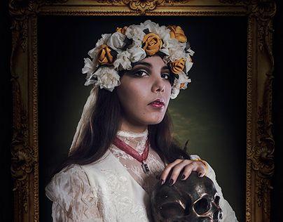 """Check out new work on my @Behance portfolio: """"La chica del cuadro"""" http://be.net/gallery/47436513/La-chica-del-cuadro"""