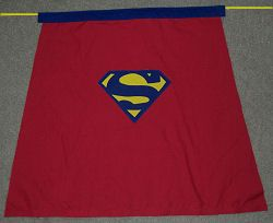 Cute no-sew superhero capes