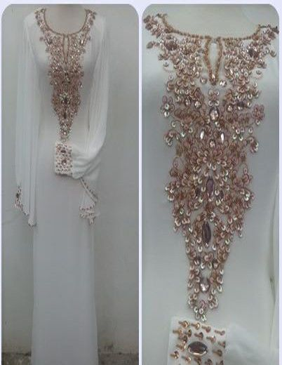 alabia jalabia fancy kaftan wedding gown by ZUBEDABOUTIQUE on Etsy, $165.00
