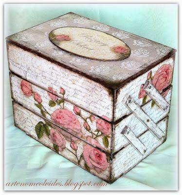 Variaciones sobre las cajas de fresa/ Wariacje na temat skrzynek po truskawkach