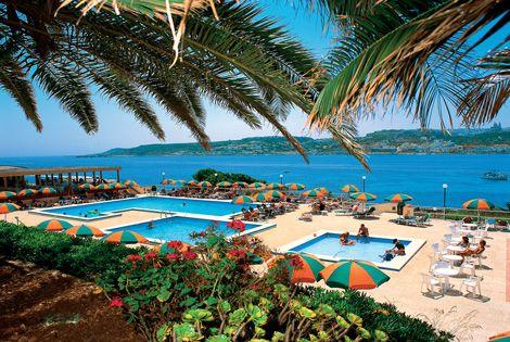Hôtel Club Mellieha Bay 4*, promo Séjour pas cher Malte Ecotour au Mellieha Bay Hotel prix promo séjour Ecotour à partir 533,00 €