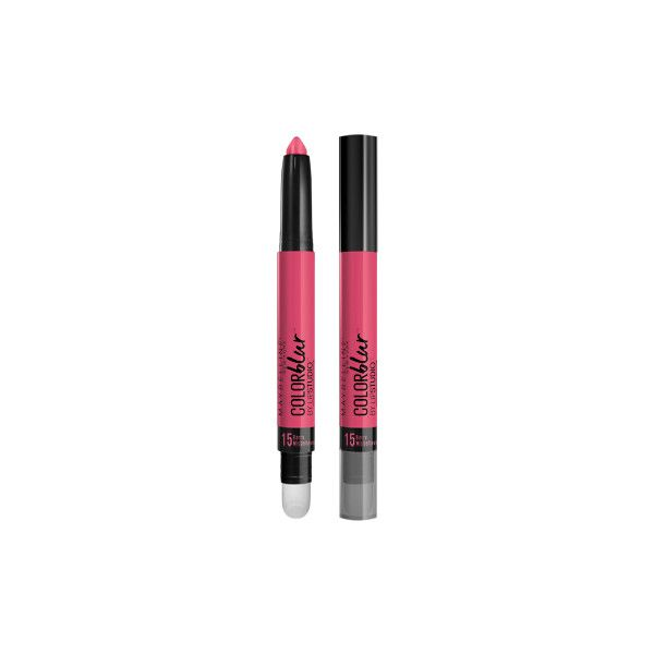 Lip Studio Color Blur Lip Pencil - Matte Lip - Maybelline ❤ liked on Polyvore featuring beauty products, makeup, lip makeup, lip pencils, cosmeticos, lips, maybelline lip pencil, maybelline and maybelline lip liner