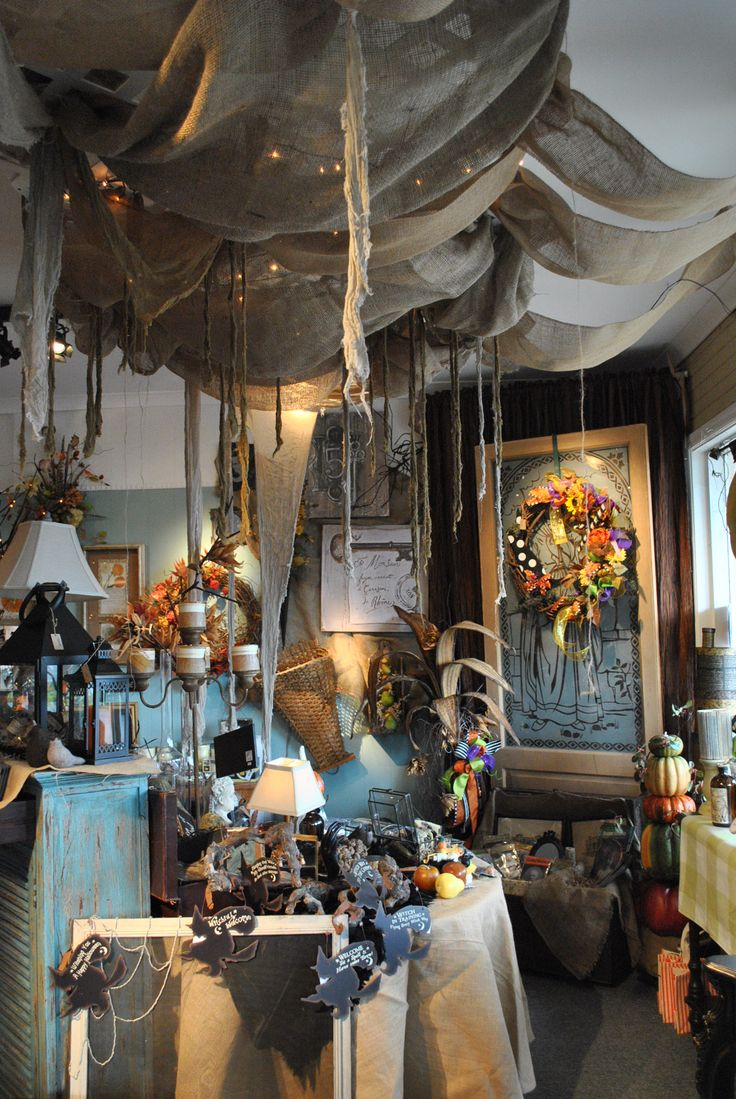 One gorgeous store display. Wow look at the ceiling!