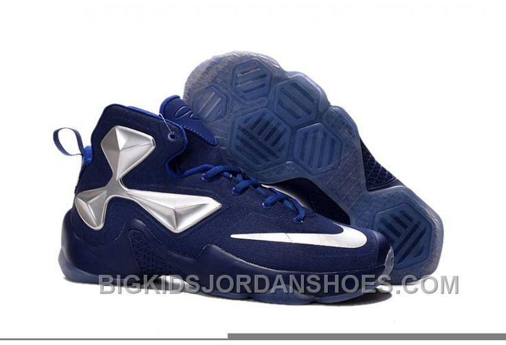 http://www.bigkidsjordanshoes.com/nike-lebron-13-blue-silver-grade-school-shoes-lastest-zrmka.html NIKE LEBRON 13 BLUE SILVER GRADE SCHOOL SHOES LASTEST ZRMKA Only $89.14 , Free Shipping!