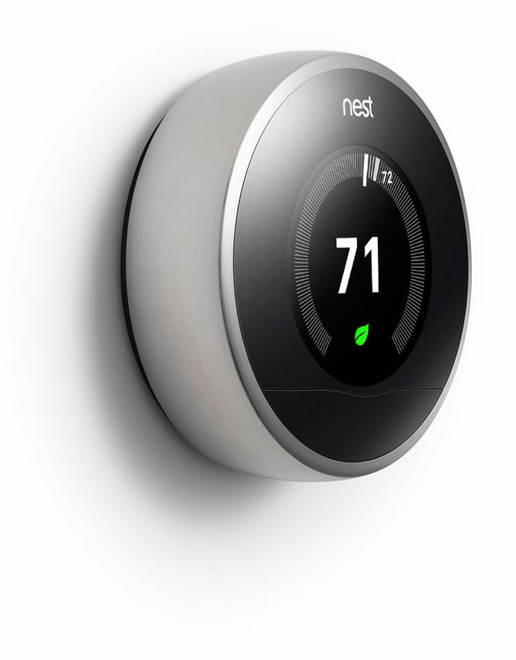Such a good idea.. a self-learning thermostat you can control from your phone!
