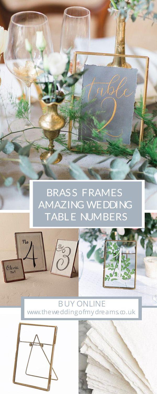 Brass Photo Frames Wedding Pinterest Wedding Wedding