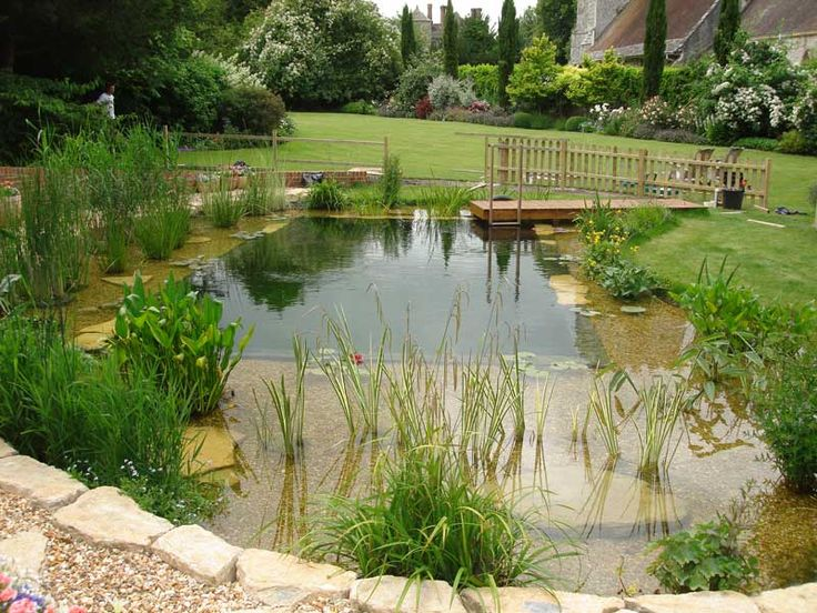 352 best natural swimming pools images on pinterest for Pond swimming pool