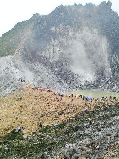 Sibayak mountain