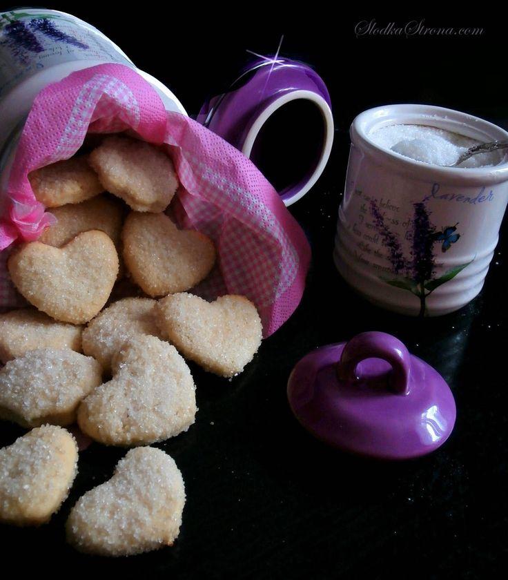 Słodka Strona: Kruche Ciasteczka z Cukrem