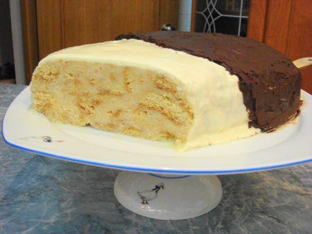 Вкусный торт «Эскимо»