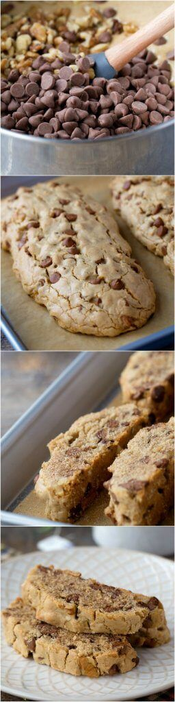 It is crazy hard to find Passover desserts that don't taste like cardboard - no disrespect intended! However, this cinnamon and chocolate chip mandel bread recipe is the BEST. My mom makes this every year is something that I can eat all year long - I am telling you that she cannot make it fast enough. It is a great dessert for your Passover sedar or just with a cup of coffee!! Either way, you must give this one a try - it will become a Passover staple!