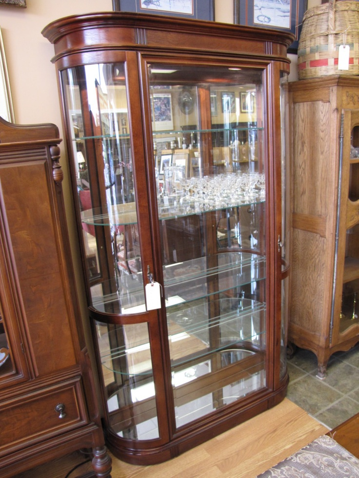 Beautiful Glass Curio Cabinet For The Home Pinterest Glass Curio Cabinets Beautiful And