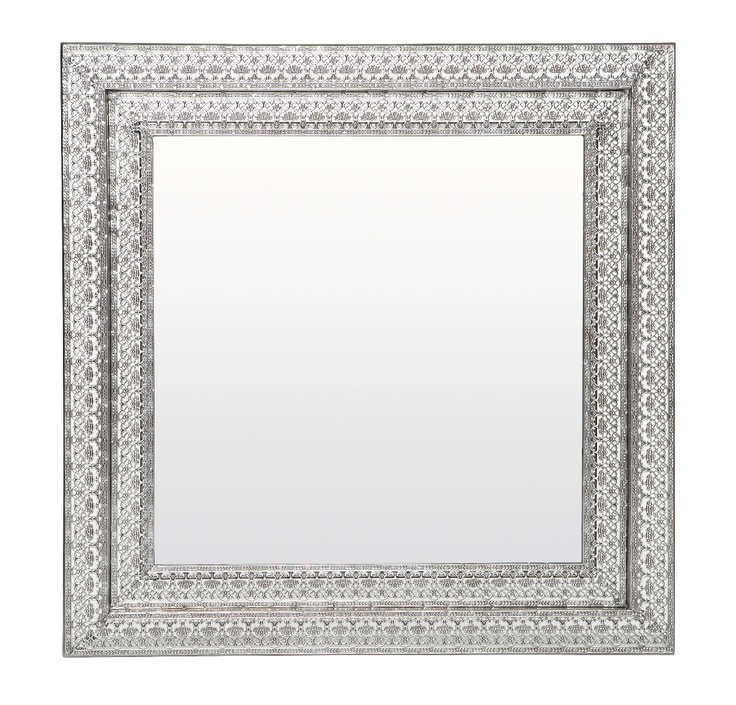 Othello Silver Mirror Square from Domayne