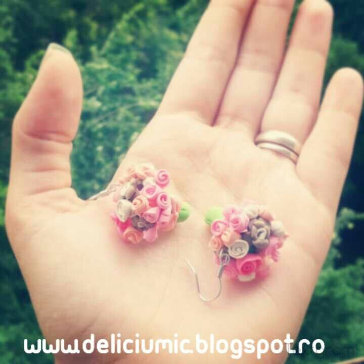 Handmade earrings <3