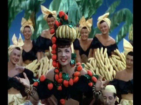 """Carmen Miranda - """"The Lady In The Tutti-Frutti Hat"""" from The Gang's All Here (1943)"""