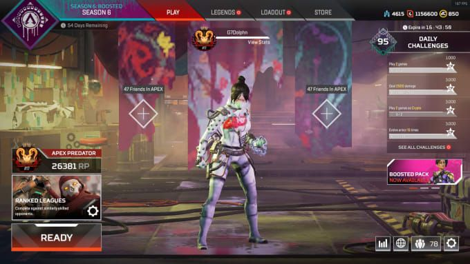 Gdolphn I Will Teach You Apex Legends At A Professional Level For 70 On Fiverr Com Apex Legend Things To Come