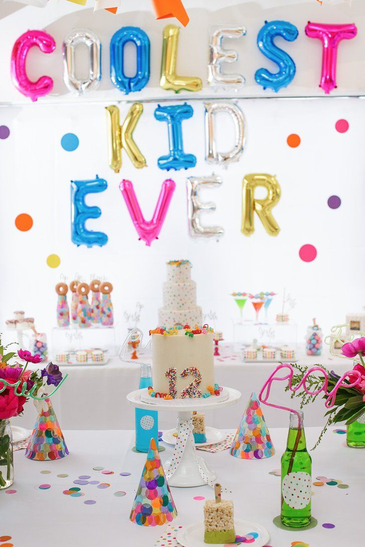 This Sprinkle Dot Confetti Bash Is Actually Birthday Party Perfection