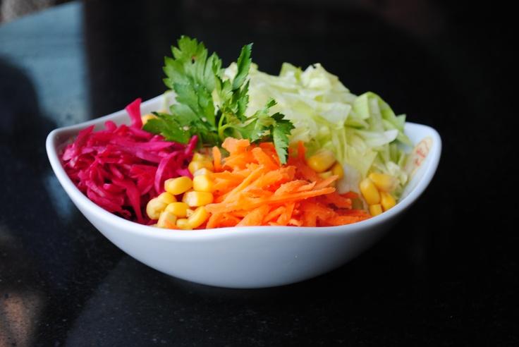 Seasonal salad,so tasty...
