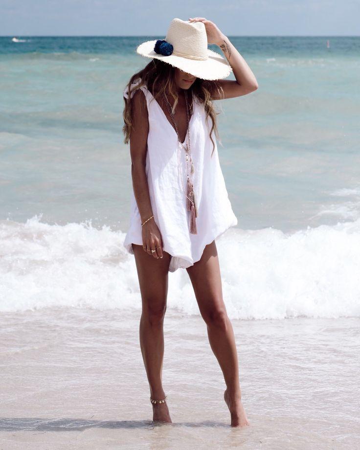 Drifter Jumpsuit, Linen Romper - Ladies Playsuit - White Beach Jumpsuit, V Neck by ljcdesignss on Etsy https://www.etsy.com/se-en/listing/279674384/drifter-jumpsuit-linen-romper-ladies