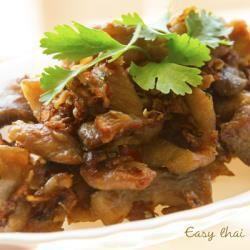 Foto de la receta: Cerdo frito con ajo y pimienta