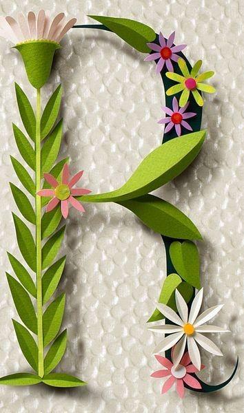 Papier décoration cake topper fleurs
