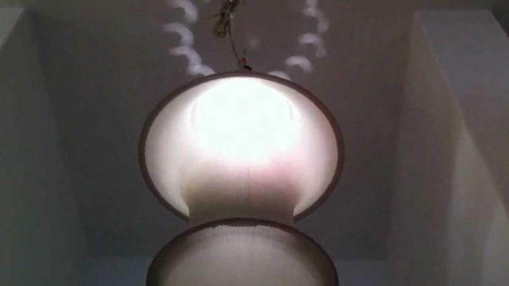 One minute for Bruno Munari's Falkland Lamp