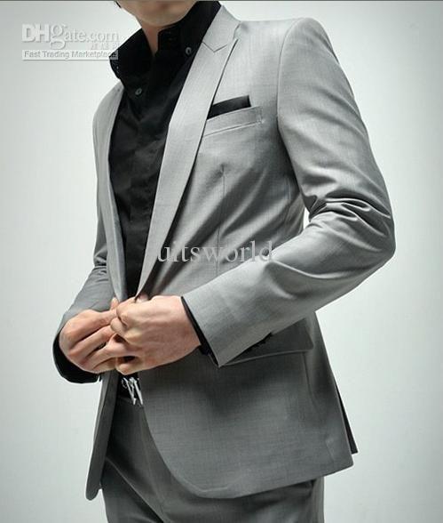 Мужские серые костюмы