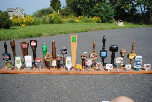Man Cave Classifieds : Bar room beer tap handles set of man cave on craigslist