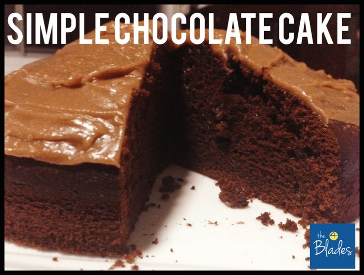 Simple Thermomix Chocolate Cake